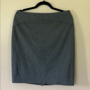 The Limited gray pencil skirt EUC